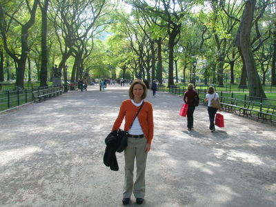 Me in Central Park.