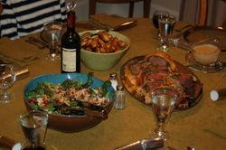 Christmas dinner - 2008