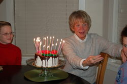 Mother's birthday 2008