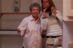Mamaw and me artsy-fartsy #3. January 2009