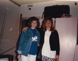 Em and Chrisy - NAU 1986-ish