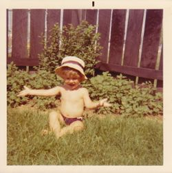 Joe - Winchester, Indiana - early 1970s