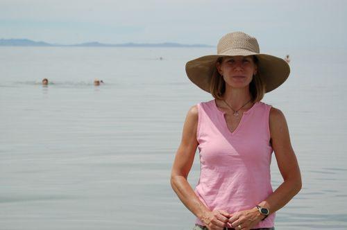 Me in lake. Ewww.