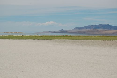 The Great Salt Lake from Antelope Island