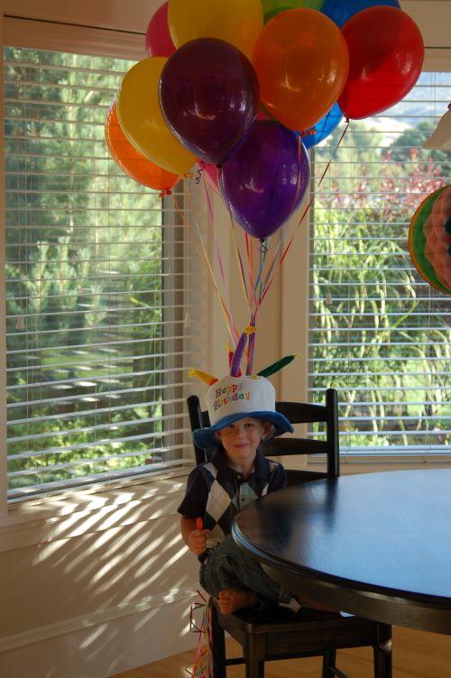 Toddler Child's 4th birthday
