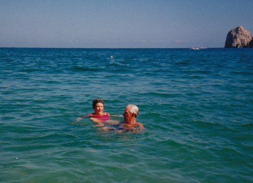 Mamaw and Papaw - Cabo San Lucas, Oct. 1986