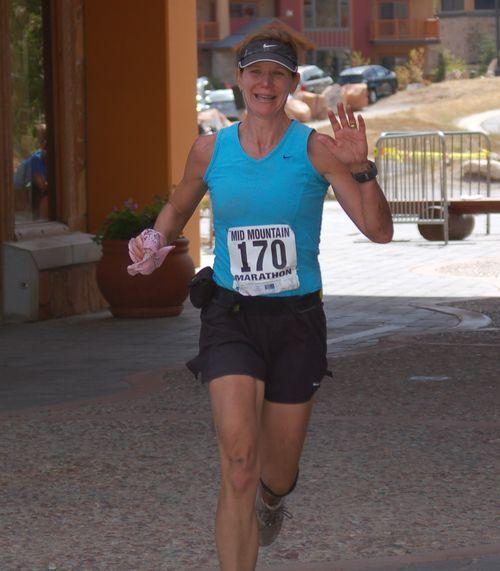 I spot the boys - Mid Mountain Marathon