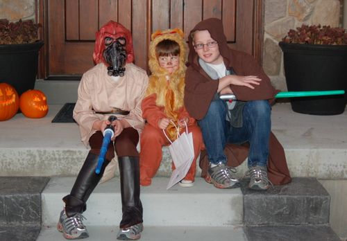 Two Jedis and a duped Cowardly Lion