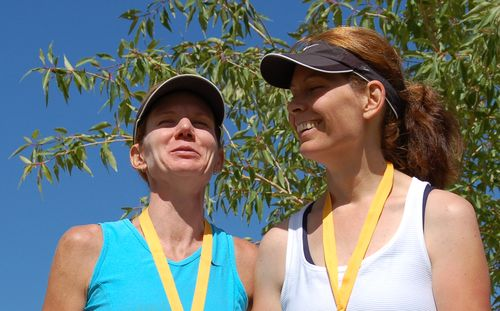(1) Chris and Supermodel - Mid Mountain Marathon 2009