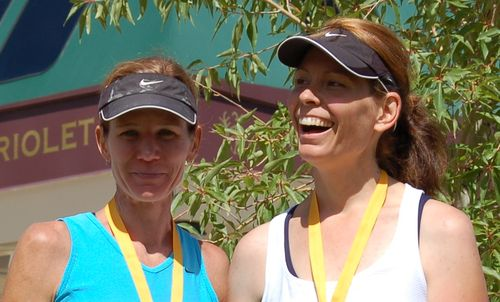 (3) Chris and Supermodel - Mid Mountain Marathon 2009