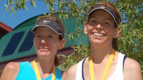 (4) Chris and Supermodel - Mid Mountain Marathon 2009