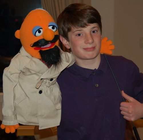 Middle Boy and his Muppet, Bob