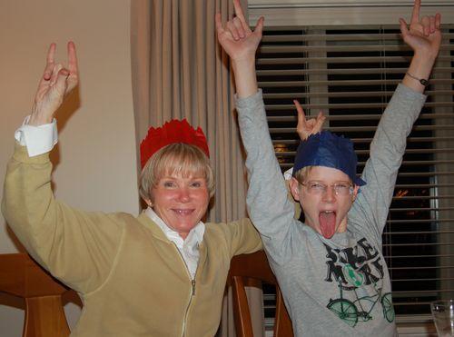Kay-Kay and Oldest Boy - Rock On! Christmas 2010