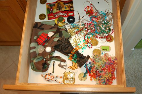 Drawer #1 - hoarding evidence