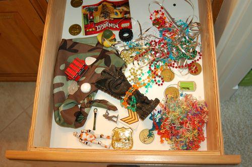 Drawer #1 - hoarding evidence