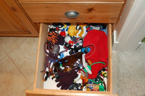 Drawer #2 - hoarding evidence